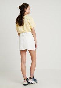 Topshop - A-snit nederdel/ A-formede nederdele - white - 2