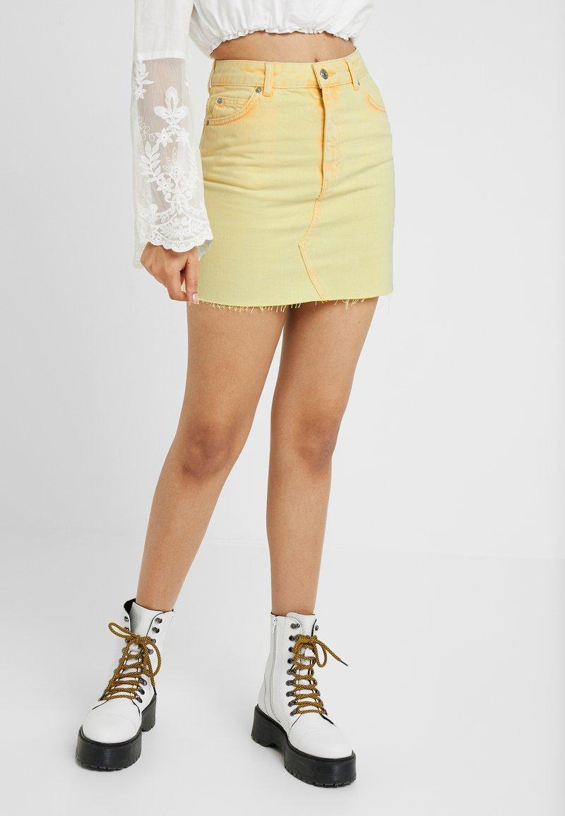 Topshop - ACID - A-line skirt - yellow