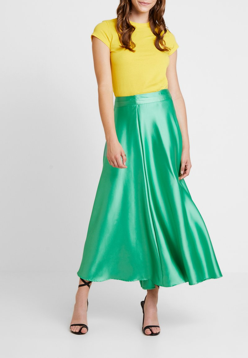 Topshop - FULL CIRCLE - Maxi sukně - green
