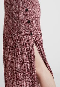 Topshop - ANIMAL MICRO PLEAT - Gonna a pieghe - pink - 4