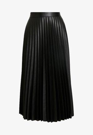 PLEAT MIDI - Jupe plissée - black