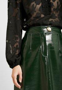 Topshop - A LINE - A-line skirt - dark green - 4