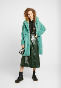 Topshop - A LINE - A-line skirt - dark green - 1