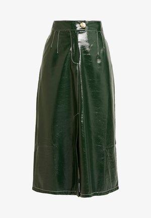 A LINE - Áčková sukně - dark green