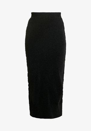 CHENIELLE SKIRT - Falda de tubo - black