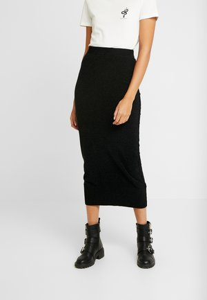 CHENIELLE SKIRT - Pencil skirt - black
