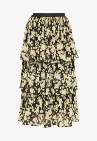 Topshop - DAISY TIERED PLEAT - A-line skirt - multi-coloured - 4