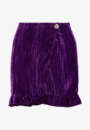 MINI SKIRT - Spódnica mini - magenta