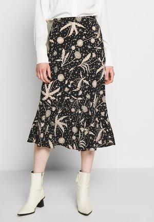 DANDELION FLOUNCE - Spódnica trapezowa - black
