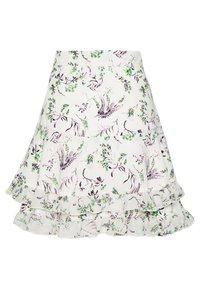 Topshop - DESIREE LAYERED MINI SKIRT - Mini skirts  - cream - 1