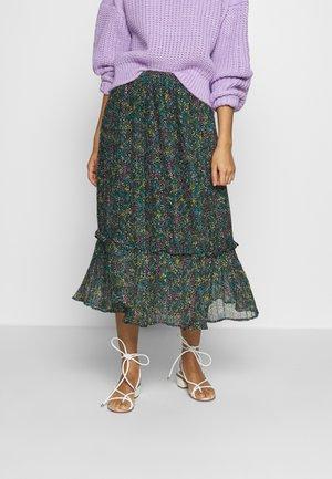 GARDEN - A-line skirt - green