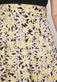 Topshop - DAISY TIERED - A-lijn rok - yellow - 5