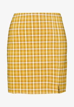 Minifalda - mustard yellow