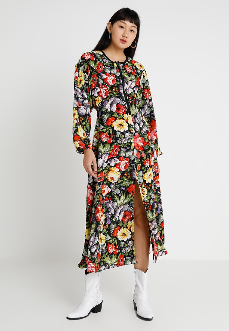 Topshop - HYKE ZIP THROUGH  - Maxi dress - multi