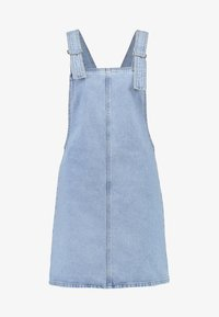 Topshop - RING PINI - Vestito di jeans - blue denim - 4