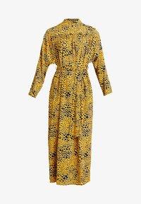 Topshop - PYTHON - Robe longue - gold - 4