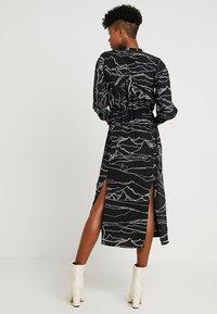 Topshop - HORSE PRINT MIDI - Day dress - black - 2