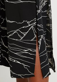 Topshop - HORSE PRINT MIDI - Day dress - black - 5