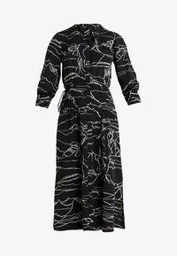Topshop - HORSE PRINT MIDI - Day dress - black - 4