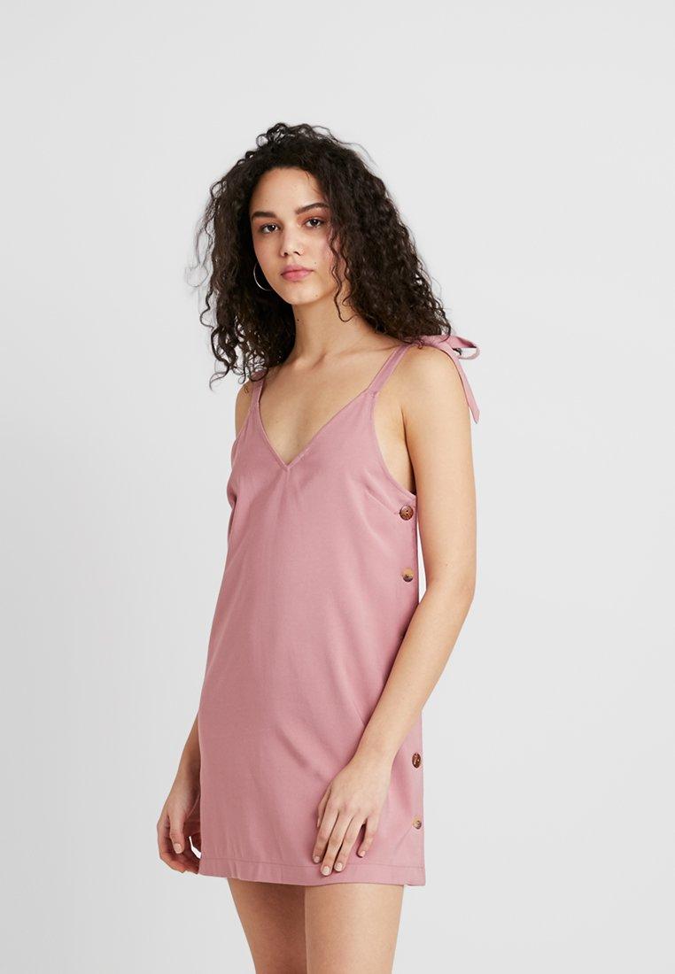 Topshop - MINI SLIP - Vestido informal - pink