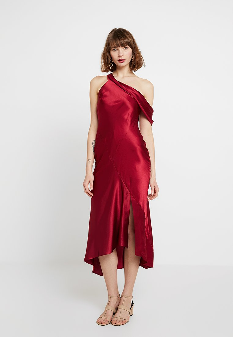 Drape One Shoulder Midi   Occasion Wear by Topshop