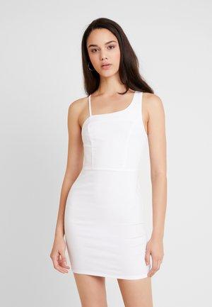 JONI DRESS - Robe en jean - white
