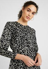 Topshop - MINI AUSTIN DRESS - Vestito estivo - black - 4