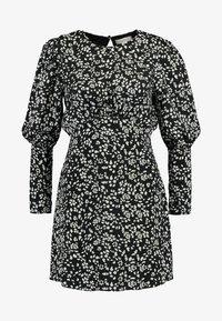 Topshop - MINI AUSTIN DRESS - Vestito estivo - black - 5