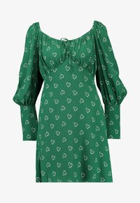 Topshop - PRAIRIE FLIPPY DRESS - Vestito estivo - green - 5