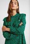 Topshop - YOKE CHUCKON MIDI - Day dress - green