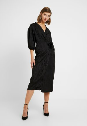 WRAP DRESS - Cocktailjurk - black