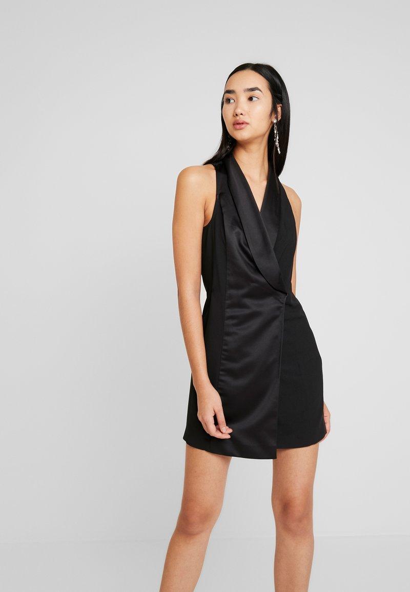 Topshop - TUX DRESS - Shift dress - black