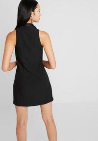 Topshop - TUX DRESS - Shift dress - black - 3