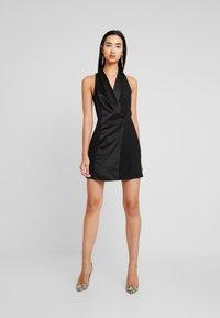 Topshop - TUX DRESS - Shift dress - black - 2