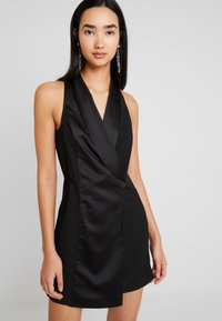 Topshop - TUX DRESS - Shift dress - black - 5