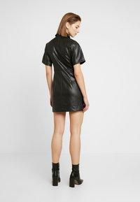 Topshop - DRESS - Shirt dress - black - 3