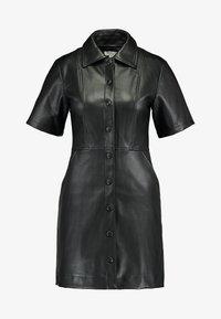 Topshop - DRESS - Shirt dress - black - 5