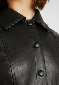 Topshop - DRESS - Shirt dress - black - 6