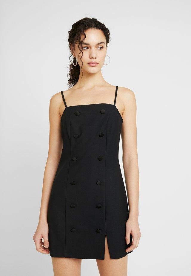 MINI DRESS XMAS - Tubino - black