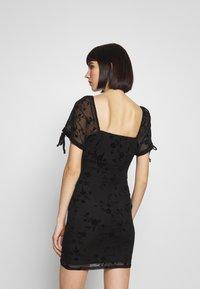Topshop - GYPSY DEVORE DRESS - Denní šaty - black - 3