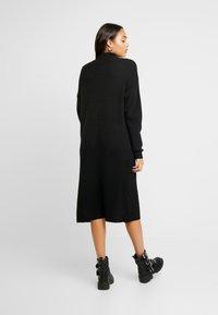 Topshop - MIX DRESS - Jumper dress - black - 2