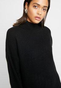 Topshop - MIX DRESS - Jumper dress - black - 5