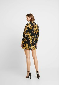 Topshop - ORIENTAL BLOOM - Robe d'été - black - 3