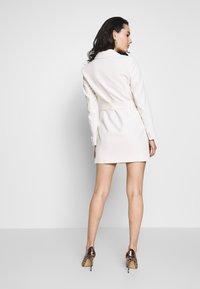 Topshop - TUX DRESS - Košilové šaty - ivory - 2