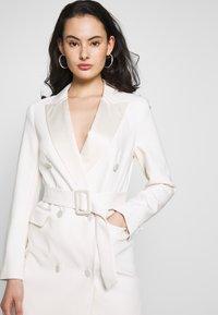 Topshop - TUX DRESS - Košilové šaty - ivory - 3
