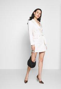 Topshop - TUX DRESS - Košilové šaty - ivory - 1