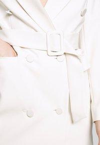 Topshop - TUX DRESS - Košilové šaty - ivory - 5