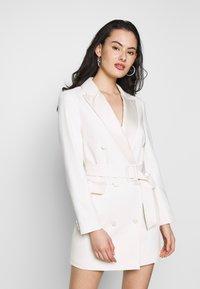 Topshop - TUX DRESS - Košilové šaty - ivory - 0