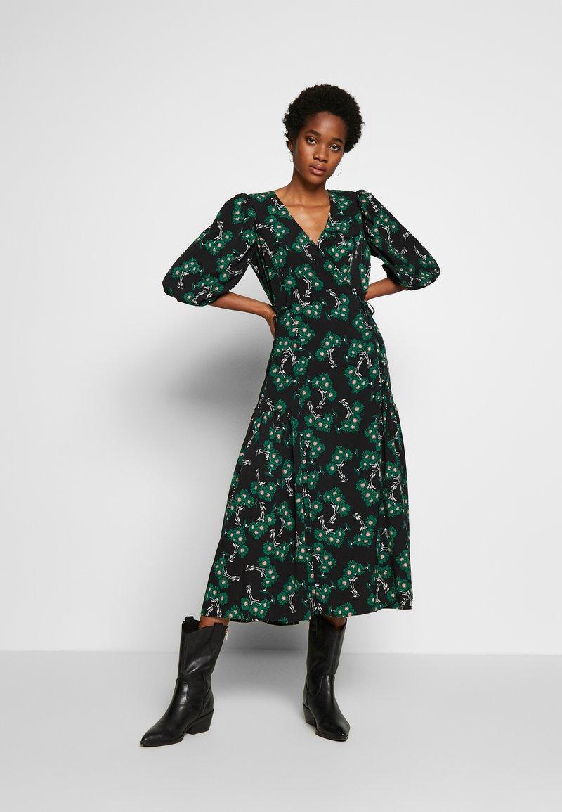 Topshop - NEW TWIST AUSTIN - Robe d'été - green