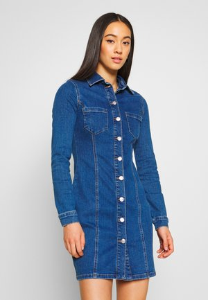 Denim dress - blue denim